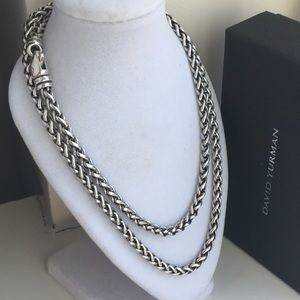 David Yurman 4mm Wheat Chain
